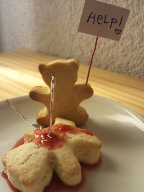 Home Game - Bloody Cake Bear
