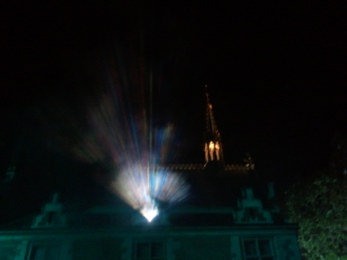 Illuminations au Château de Blois