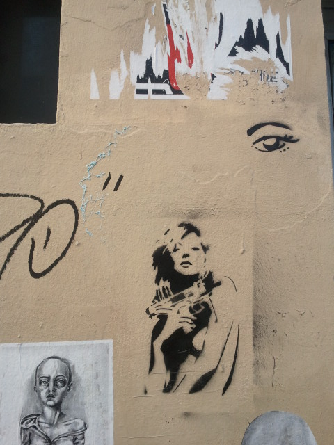 Paris Paper Street Art
